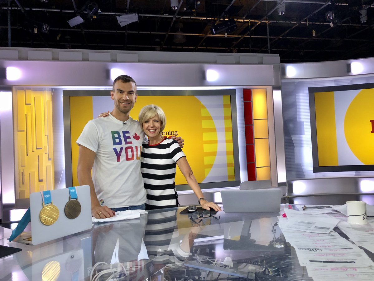 Right now — Canadian figure skater @Rad85E joins @cbchh on @CBCMorningLive talking about life, sport and his work toward inclusion and acceptance in sport.
