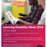 This week it is #LDWeek18 Please check out the link to the @mencap_charity page with all of the information and how you can get involved! https://t.co/jy32d971ki #Charity #Support #FridayFeeling #Involved #FridayThoughts #Information #eventprofs #CharityWeek #TreatMeWell