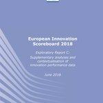 Image for the Tweet beginning: European Innovation Scoreboard 2018 just