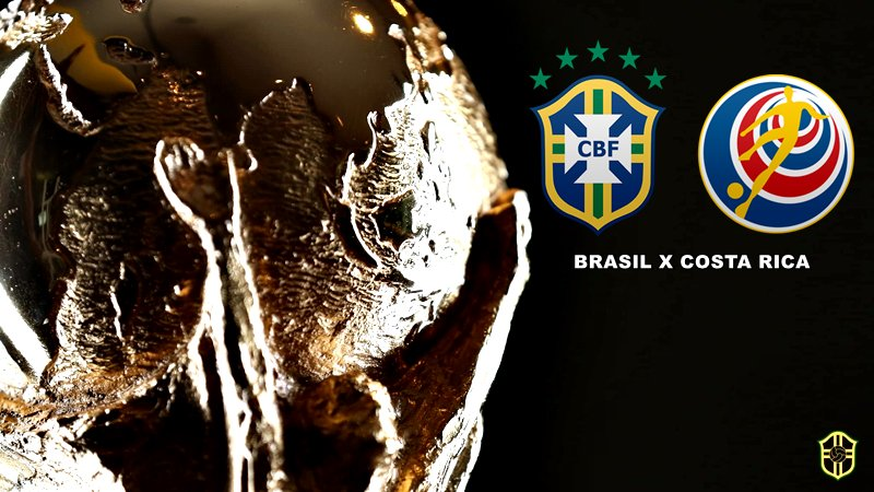 09h00   Copa do Mundo (#WorldCup) - 2ª rodada (Grupo E)  #BRA x #CRC  📺 Rede Globo, SporTV e Fox Sports
