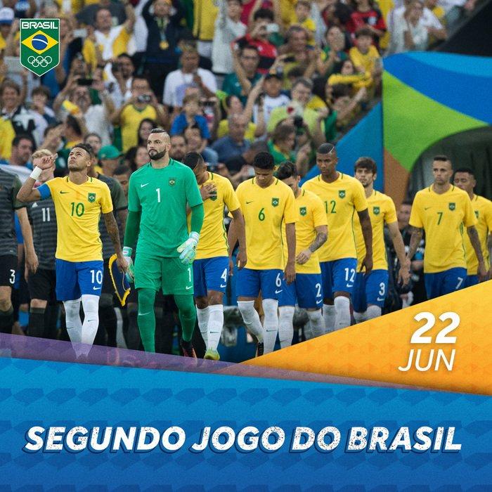 A seleção de futebol vai passar por mais um desafio hoje, e dessa vez é contra a Costa Rica! Vamos juntos na torcida! 🙌⚽️🇧🇷 #TimeBrasil