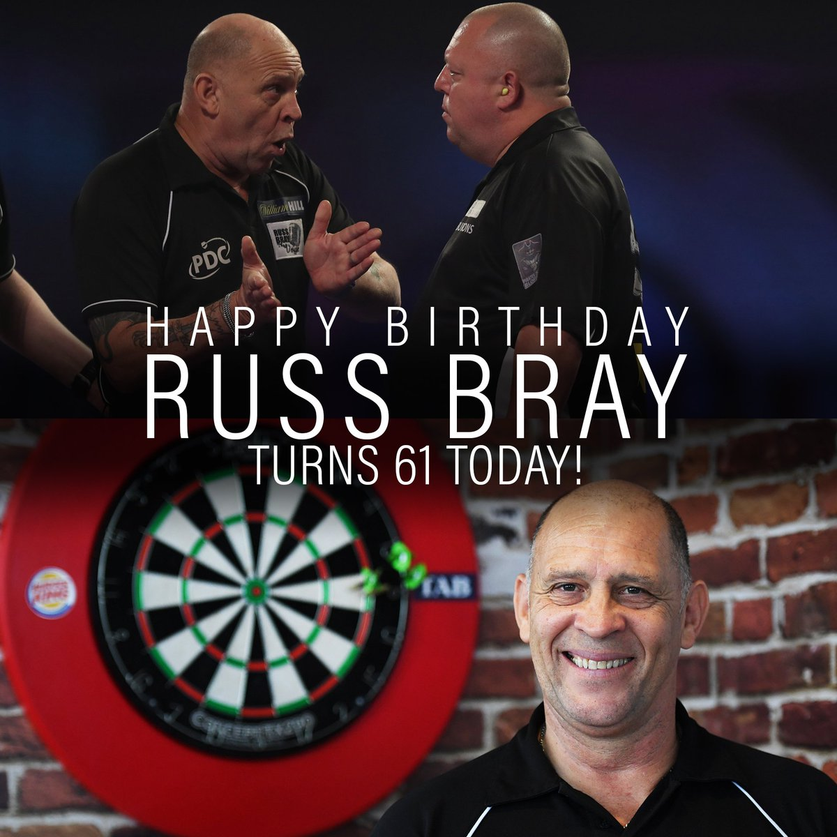 HAPPY BIRTHDAY to The Voice @Russ180, who turns 61 today! 🎂🎉🎈