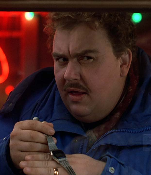 &#39;Planes, Trains and Automobiles&#39; (1987) Director John Hughes brought this iconic Steve Martin, John Candy teaming.  A man must struggle to travel home for Thanksgiving with an obnoxious slob of a shower curtain ring salesman as his only companion. With Laila Robins &amp; others. <br>http://pic.twitter.com/KnbZxYtOlM