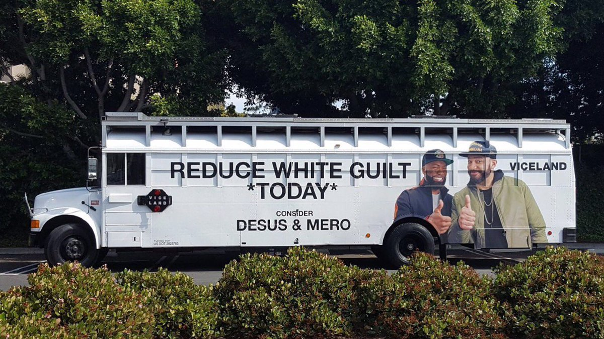 #DesusAndMeros @TheEmmys FYC campaign hilariously promises to reduce voters white guilt if nominated buff.ly/2MQ8CHa