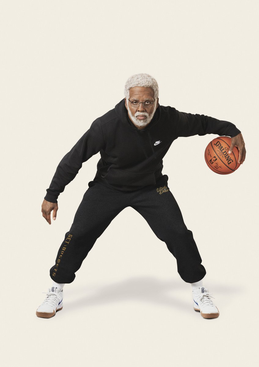 Get your popcorn and your gear ready🍿 The Nike Kyrie Uncle Drew Collection drops on June 29 slam.ly/drew-collection