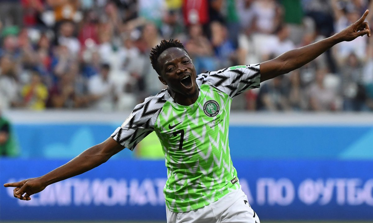 Full-time: Nigeria 2 Iceland 0. Ahmed Musa, 2-goal hero plies his trade with CSKA Moscow, on loan from Leicester City & has scored 6 times in 10. In November, Nigeria beat Argentina 4-2 in Russia. Are the stars finally lining up for the Super Eagles as they ready for Argentina?