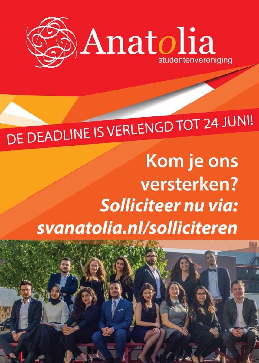 motivatiebrief studentenvereniging SV Anatolia (@svanatolia) | Twitter motivatiebrief studentenvereniging