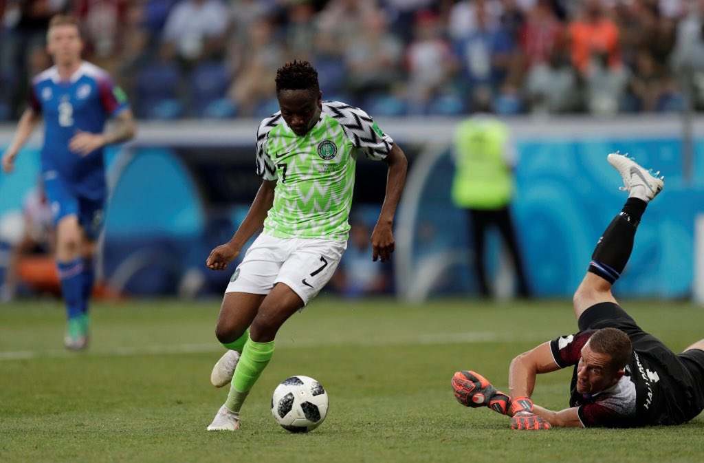 Dear Ahmed Musa , You brought joy to the whole continent ! On behalf of the entire country, I say a big THANK YOU. I owe you two free gigs !!! God bless the Super Eagles 🦅🇳🇬👑❤️