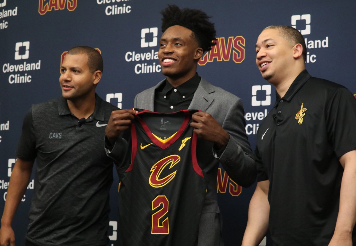 Welcome to The Land, @CollinYoungBull!   #AllForOne