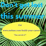Image for the Tweet beginning: Explore MEBA career resources this