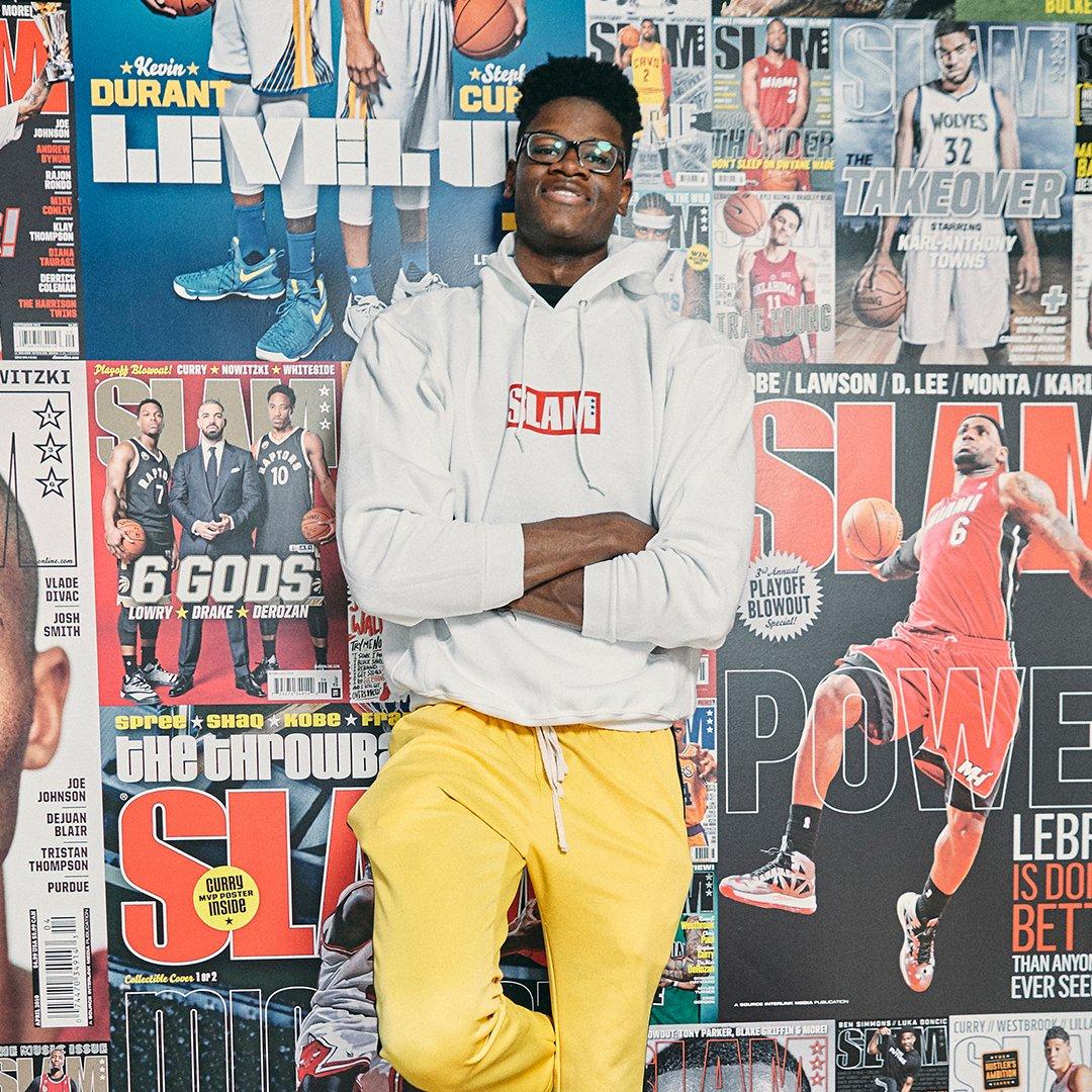 Shout out to Mo Bamba, Miles Bridges, & Aaron Holiday for getting drafted last night 💪🏽 Cop the official SLAM Draft Hoodie here ➡️slam.ly/draft-hoodie