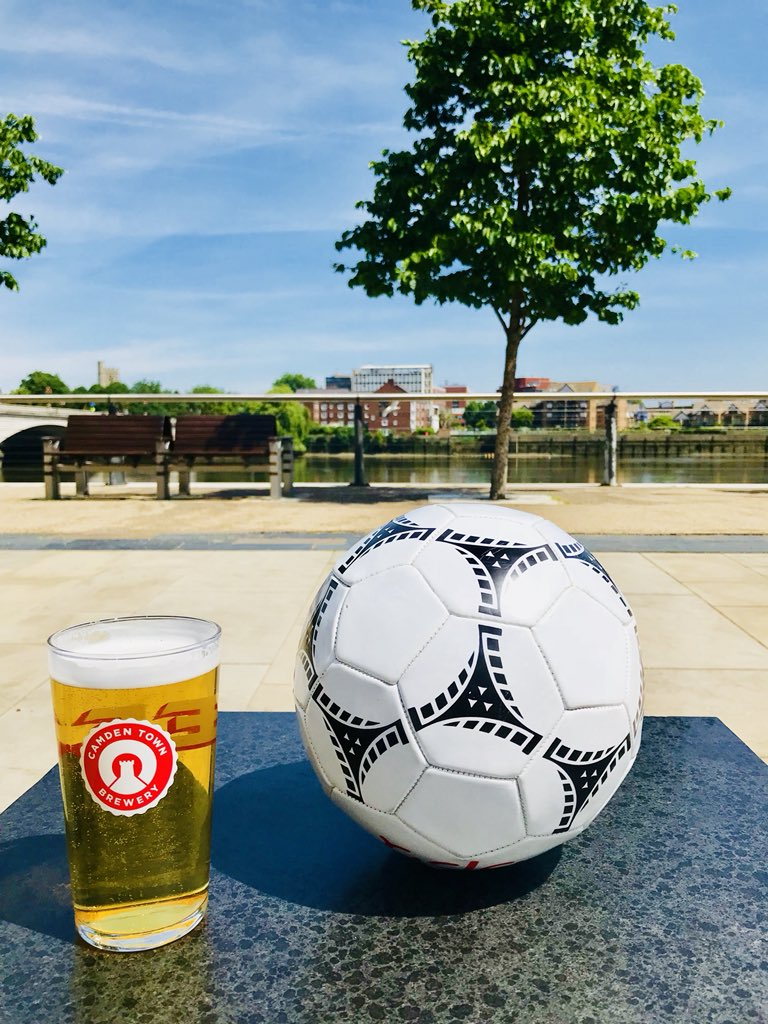 We can't wait to watch England's second World Cup game this Sunday from 1pm. And when you book a table to dine, for 4 or more, for any England game, we'll throw in a round of Camden on us with your main course! #WorldCup18 #EnglandSquad #footy #RUSSIA_2018 #Russia2018WorldCup