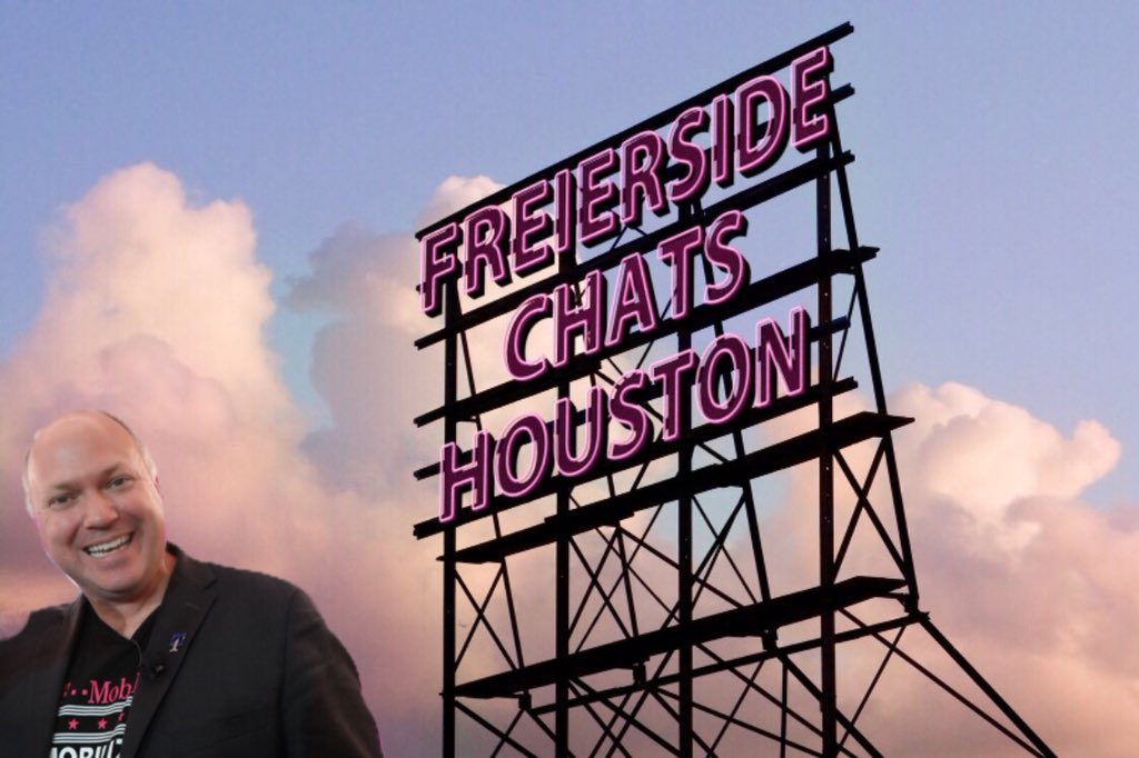 Don't forget to tune in to Freierside Chats live from Houston TX today! 11:00 AM East Coast 10:00 AM Peeps in the middle 8:00 AM West Coast ☀️ #freiersidechats #houstonstrong #scownit @Alisa_Arner @domjrcoleman @brittgit03 @KAlgya #HtownHoldsItDown