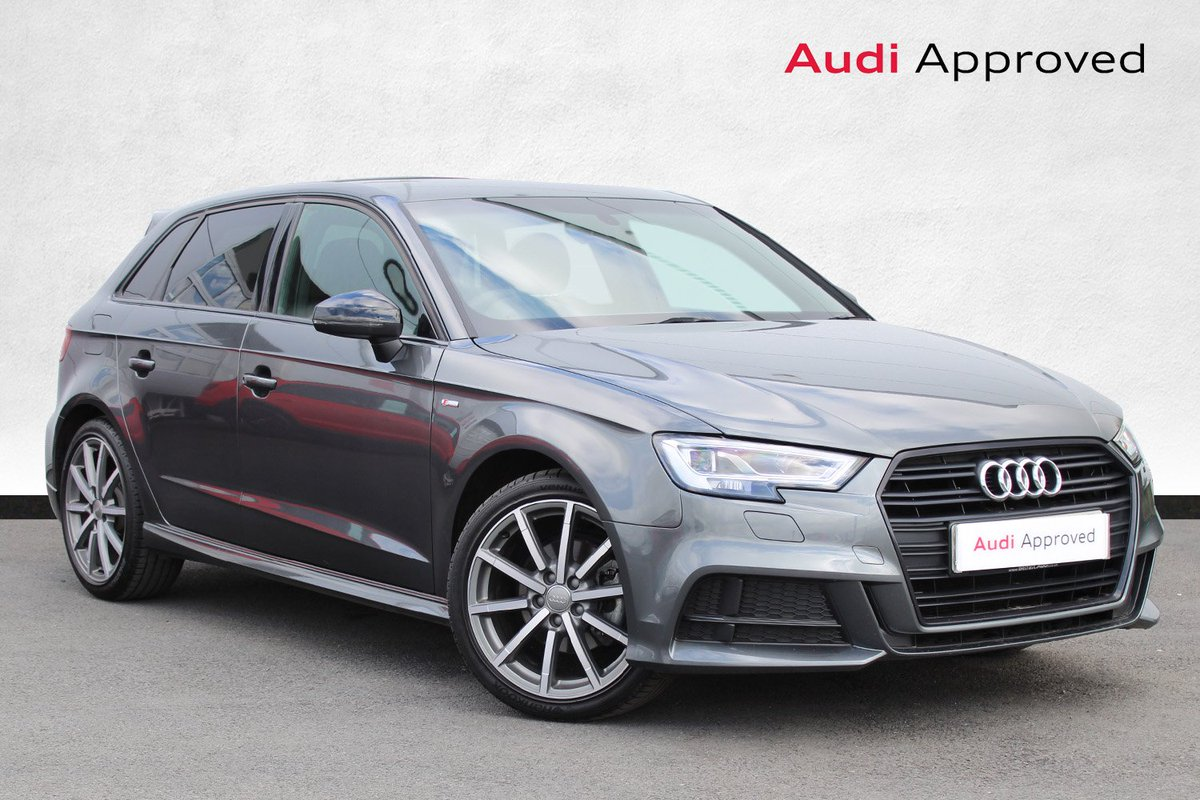 Ni Audi Pa Twitter Check Out This 2018 Audia3 Sportback 1 6 Tdi Black Edition In Daytona Grey This A3 Has 2 600 Miles Is Available At 22 490 Features Include Audi Sound System