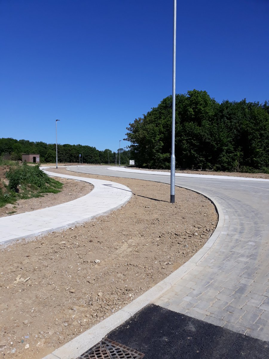 This week marked the completion of the civils works @Harlow_SP thanks to @JacksonCivils - next steps are first building construction in July and landscaping in autumn.<br>http://pic.twitter.com/Kspe7GP775