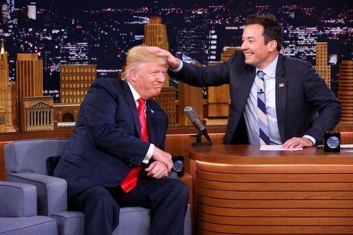 Jimmy Fallon reveals personal pain following Trump fallout https://t.co/a5d38vUbXd   #wmc5