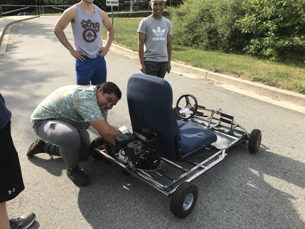 Great Go Kart Challenge Hybrid Gas Electric You Name It Students Design And Build Pic Twitter Ihdanmcyr2