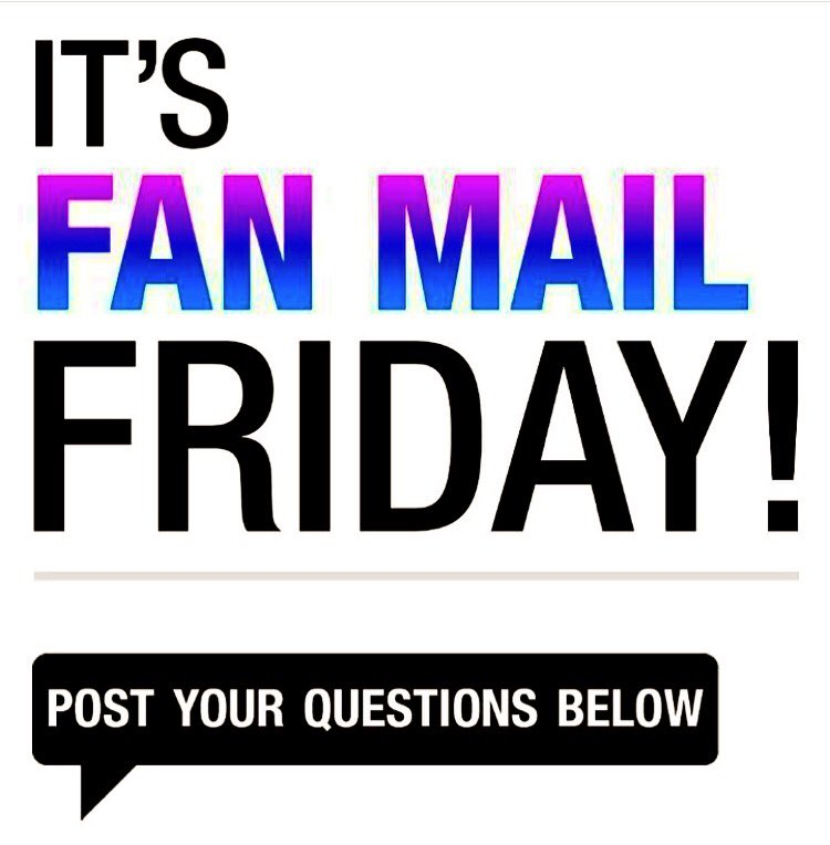 Hey it's #FanMailFriday ! Get your questions in! #TheFive
