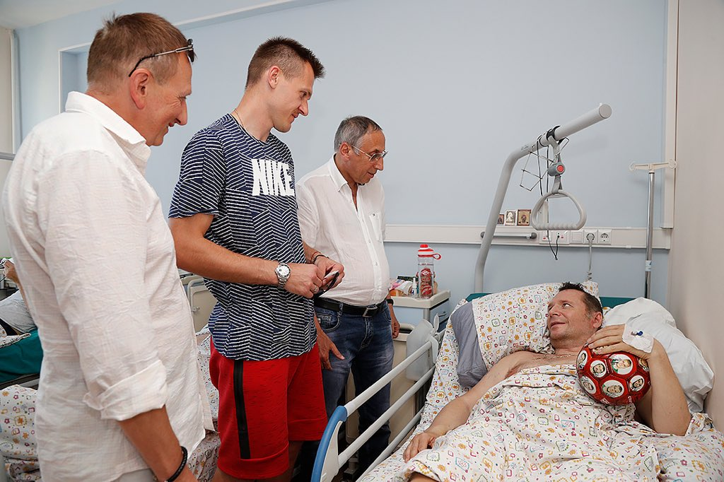 Михаил Вартапетов, Артем Ребров, Леонид Трахтенберг и Антон Добрянский