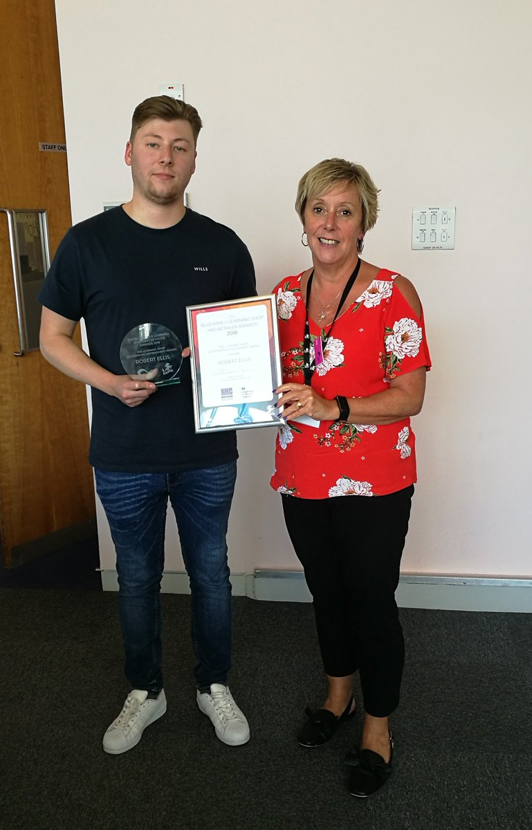 test Twitter Media - Julie presents Rob with his award for outstanding achievement, and we are all so proud of him! Well done Rob!!! https://t.co/uwn2ZLSB4f