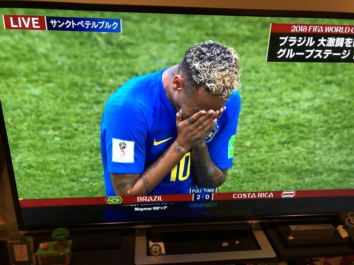 ブラジル vs コスタリカ、凄かった… ブラジルから強さというものを学んだ😧