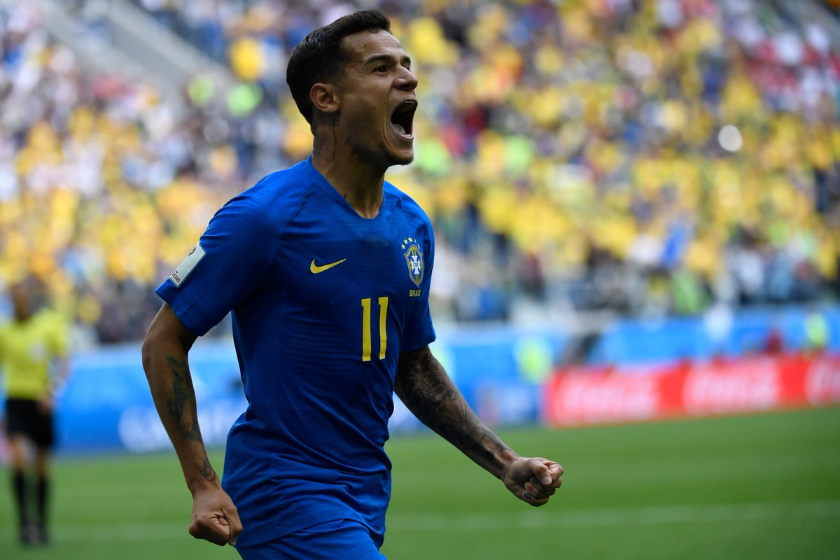 🇧🇷 Philippe Coutinho has now scored 10 goals in his last 10 games for club & country. 🔥🔥🔥