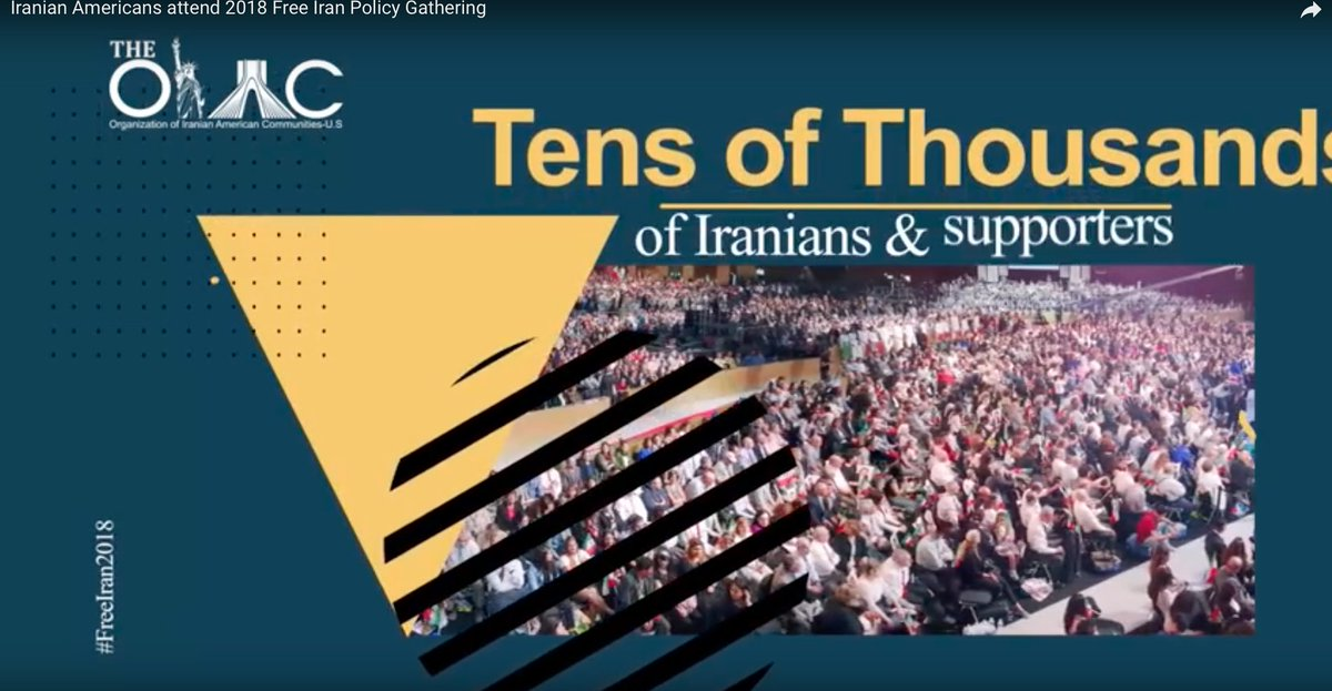 What is the message of #100K Iranians &amp; supporters from 5 continents in #FreeIran2018 gathering in #Paris? #FreeIran  https://www. youtube.com/watch?v=uFkBBf WF_jo &nbsp; …  @GOPLeader @NancyPelosi <br>http://pic.twitter.com/W0XR1Bm7z6