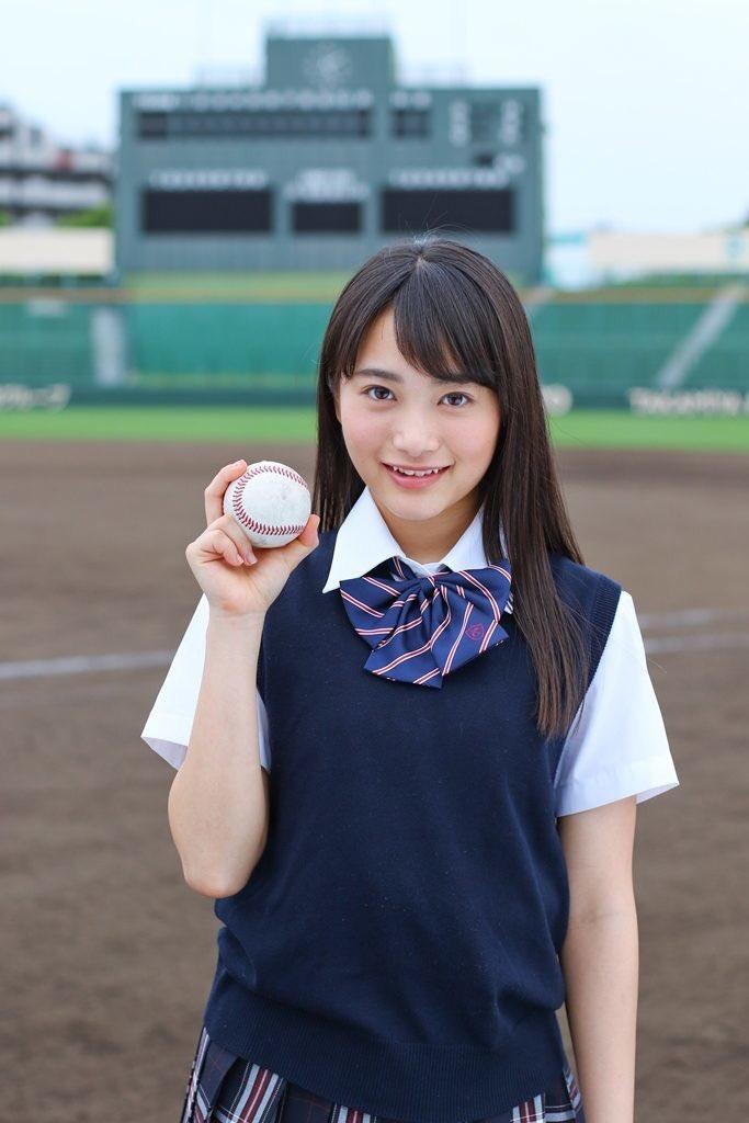 高校野球にも福田愛依