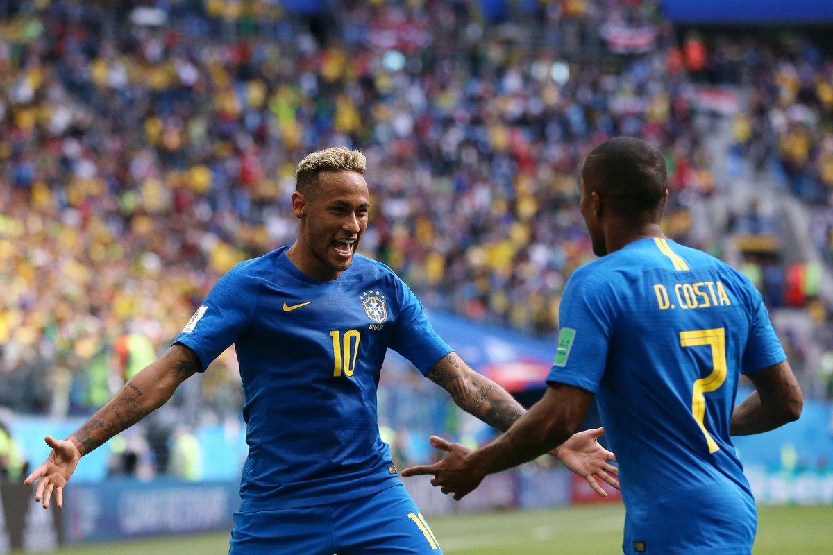 البرازيل تنهي أحلام كوستاريكا في الوقت القاتل