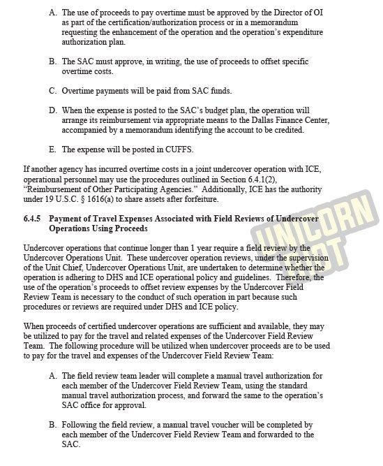 Expenses Unicornriotninja 2018 Icebreaker Pt 5 Confidential Homeland Security Undercover Operations Handbook Pictwitter YNA67TQT8K