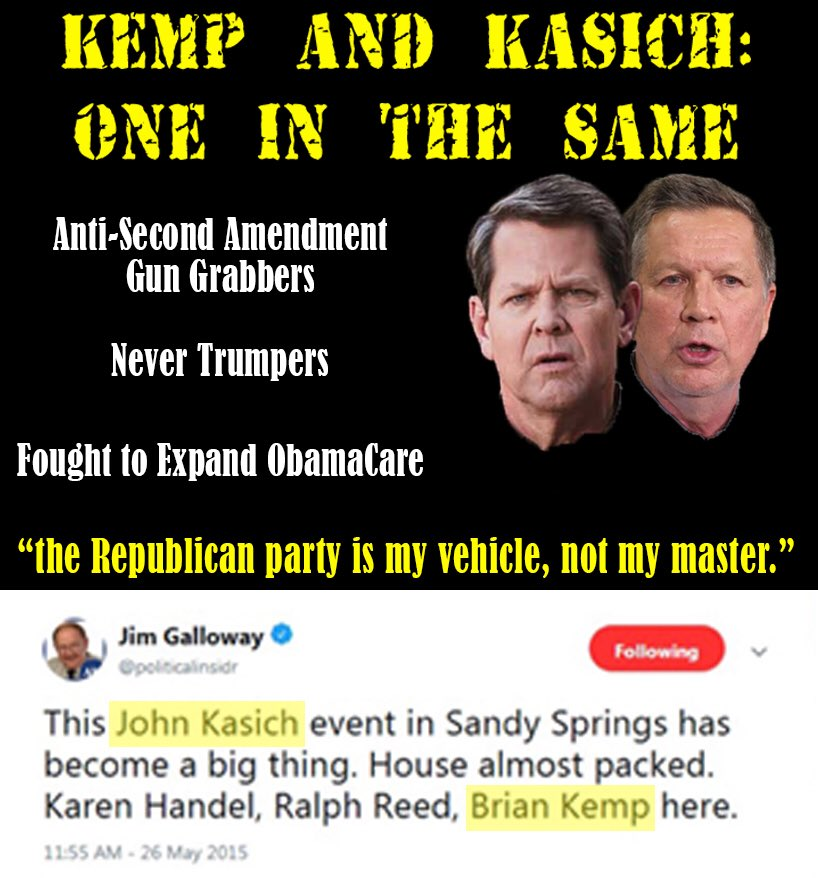 ".@CaseyCagle endorsed @realDonaldTrump in May and spoke in support of POTUS at the convention. @BrianKempGA never endorsed POTUS  bc ""he wasn't asked"". I guess Kasich did...<br>http://pic.twitter.com/WkV3IisS60"