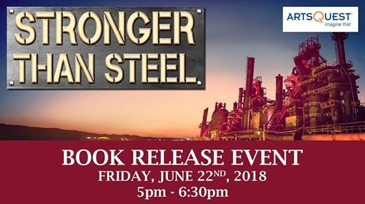 TONIGHT at 5pm! Join us for a reading of an excerpt from Stronger Than Steel by ArtsQuest & Musikfest founder Jeffrey A. Parks. The author will be available for book signing after the reading. Info: buff.ly/2lrvOPw