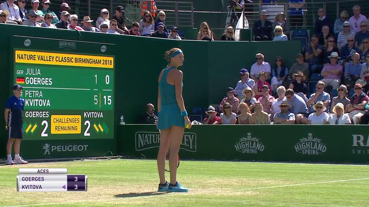 Superb angled shot from @Petra_Kvitova! #NatureValleyClassic https://t.co/xY9K9JXDJB