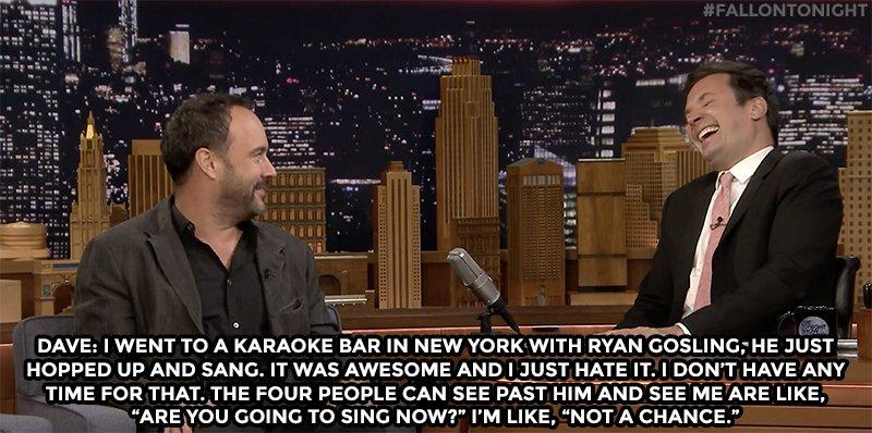 First rule of karaoke: dont let Ryan Gosling open for you! youtube.com/watch?v=D4ljA2…