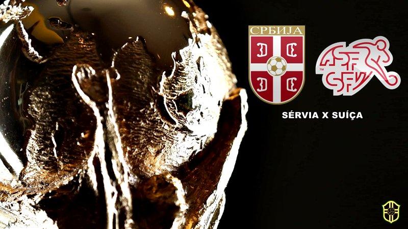 15h00   Copa do Mundo (#WorldCup) - 2ª rodada (Grupo E)  #SRB x #SUI  📺 Rede Globo, SporTV e Fox Sports