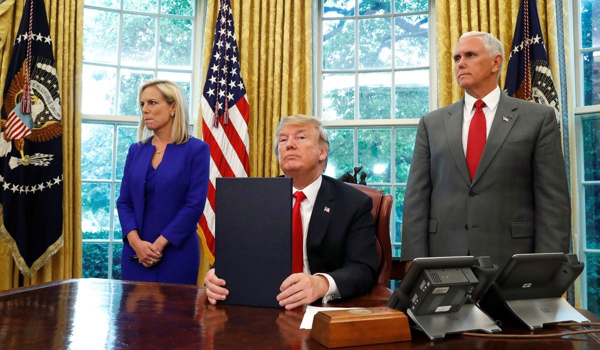 Trump Moves to Obama's Position on Family Detention, Democrats Outraged https://t.co/lFs5ngP4Yp via @DavidAFrench
