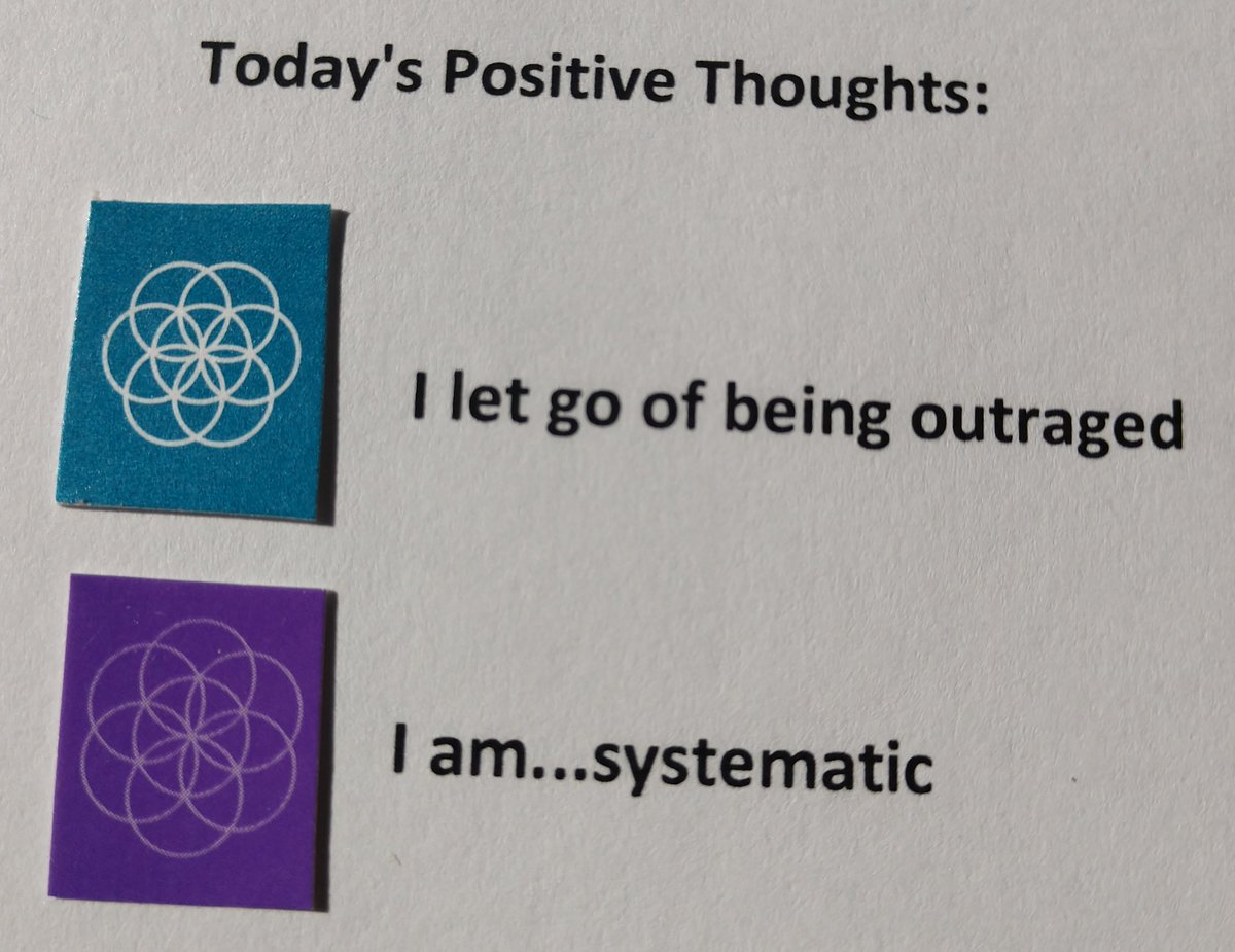 test Twitter Media - Today's Positive Thoughts: I let go of being outraged and I am...systematic. #affirmation https://t.co/wdliBwkyhI