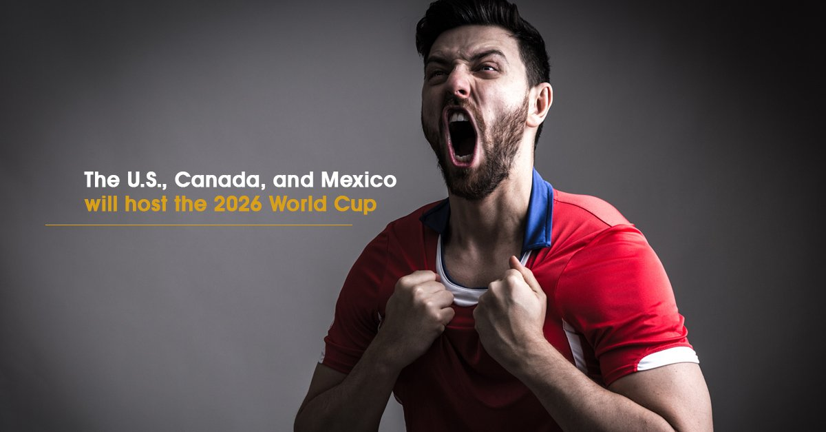 With the joint bid winning out over Morocco, the world's biggest sporting event will be returning to the US in 2026. #US #Canada #Mexico #WorldCup #WorldCup2026