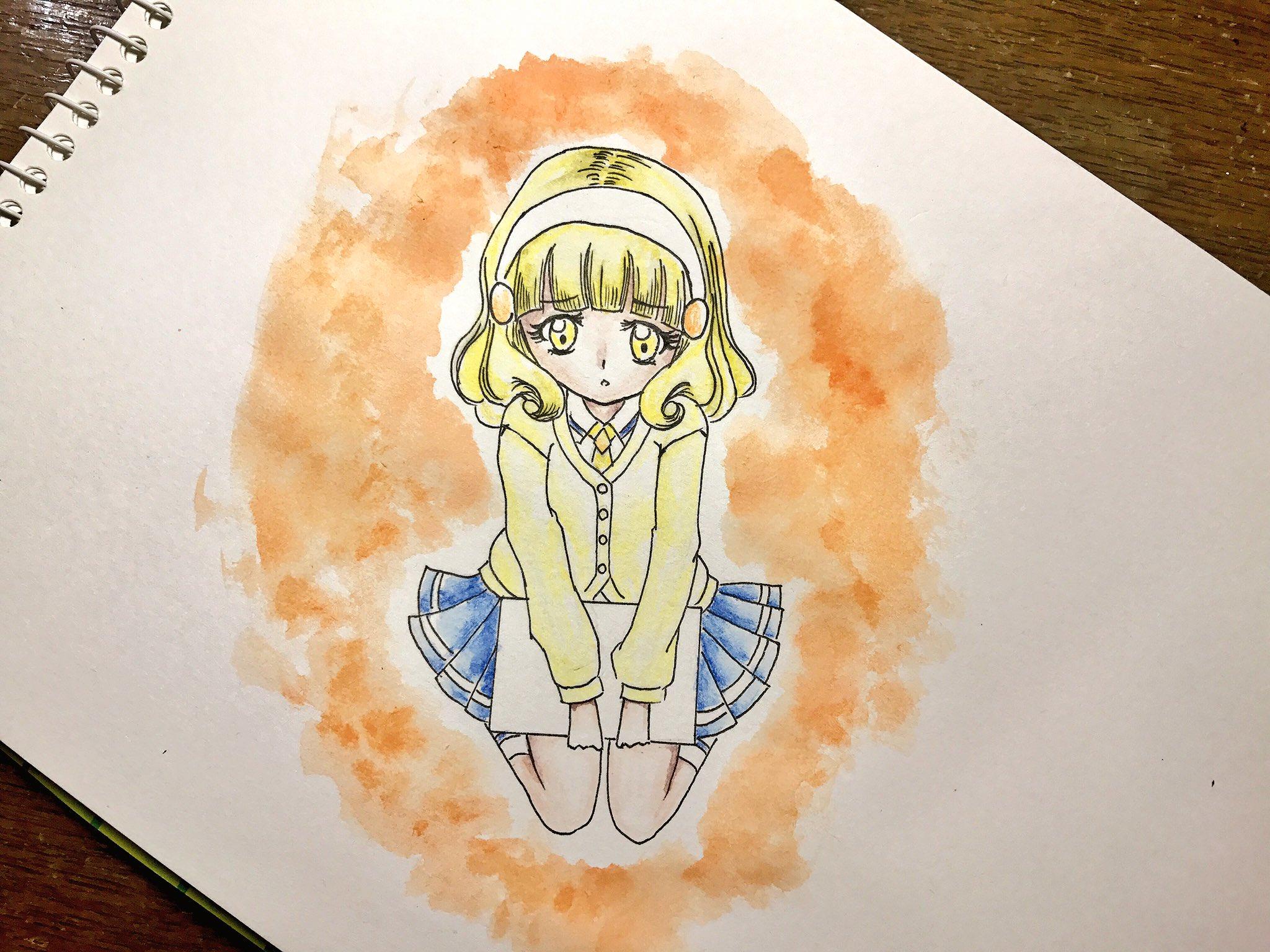 かなかなえ (@too_kanae)さんのイラスト