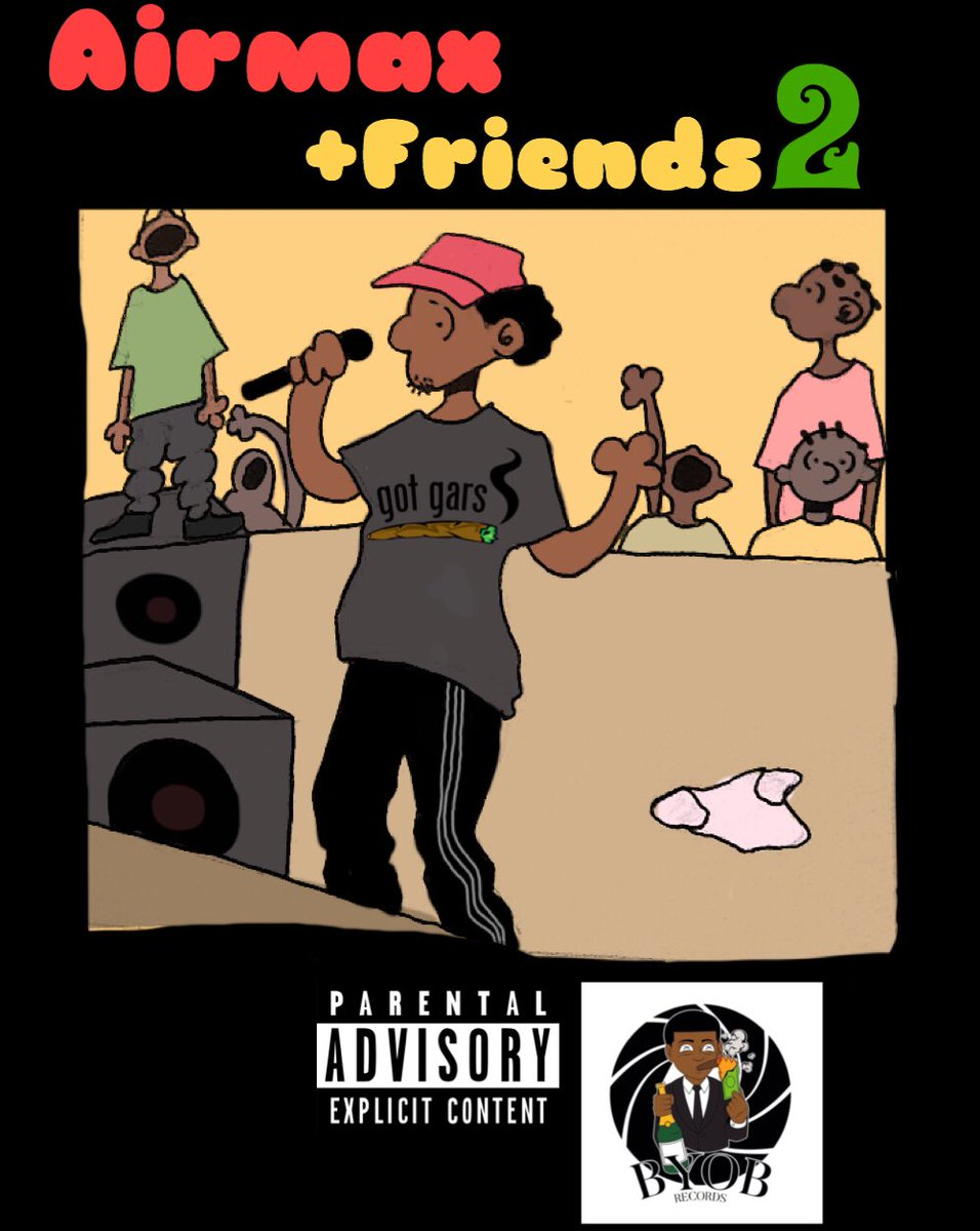 AIRMAXX +FRIENDS2  #albumcover @yaeTBG<br>http://pic.twitter.com/qC5GB0ehlD