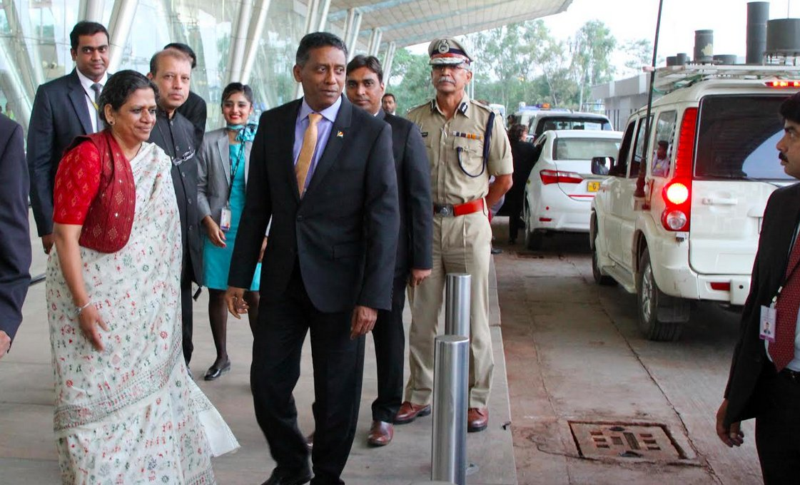 Seychelles president Danny Faure arrives Gujarat, will participate in various events