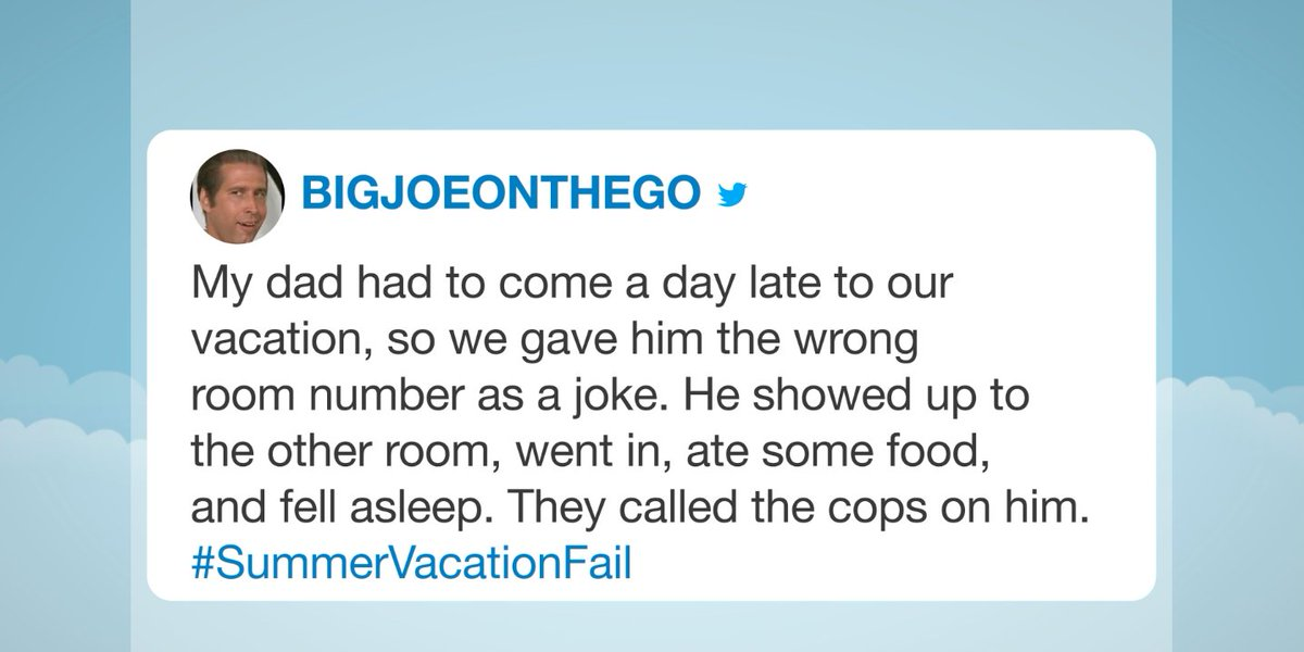 Jimmy reads some of your funniest #SummerVacationFail tweets! youtube.com/watch?v=VU1axQ…