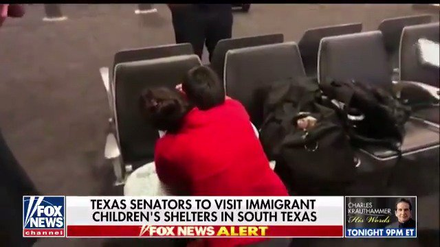 NEWS ALERT: Texas senators to visit immigrant children's shelters in South Texas. https://t.co/8O0hAcJ2zd