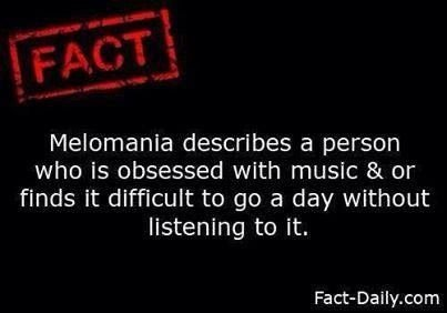 Who else has Melomania ? buff.ly/2yiCI2E #FridayFact #FactOfTheDay #MusicObsessed