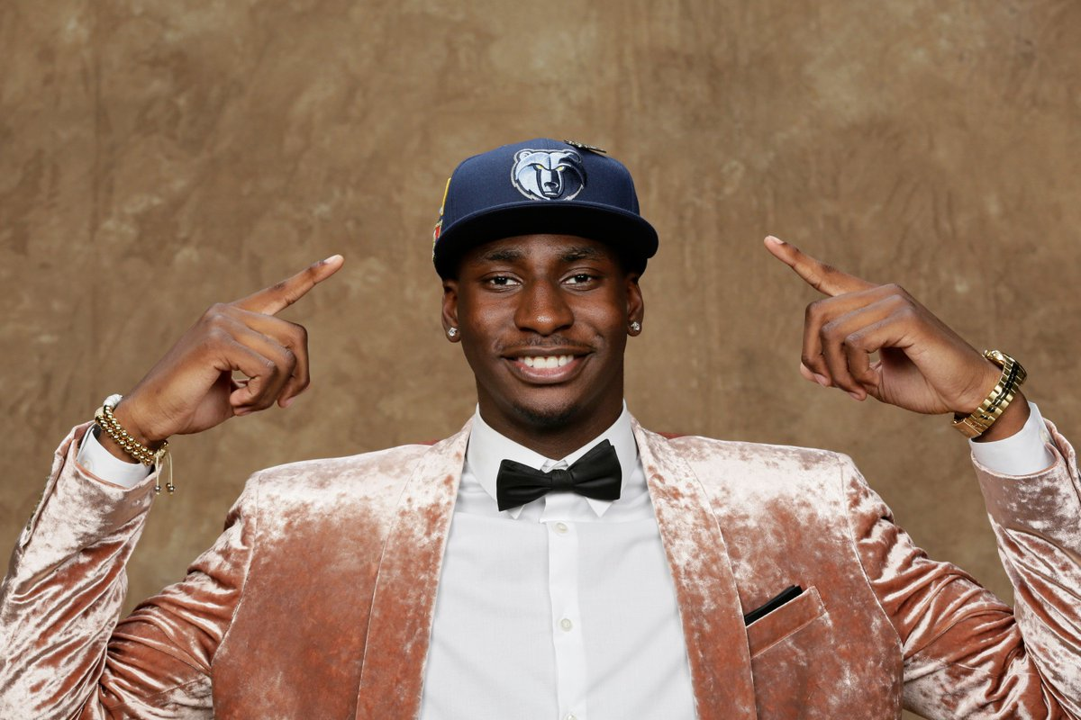 Jaren Jackson Jr. is on the rise 📈 The No. 4 pick in the 2018 draft is ready to bring #GritNGrind back to Memphis: slam.ly/jaren-rise