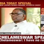 Justice Chelameswar Video Trending In Worldwide