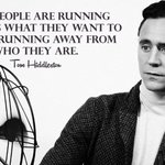 Tom Hiddleston Twitter Photo