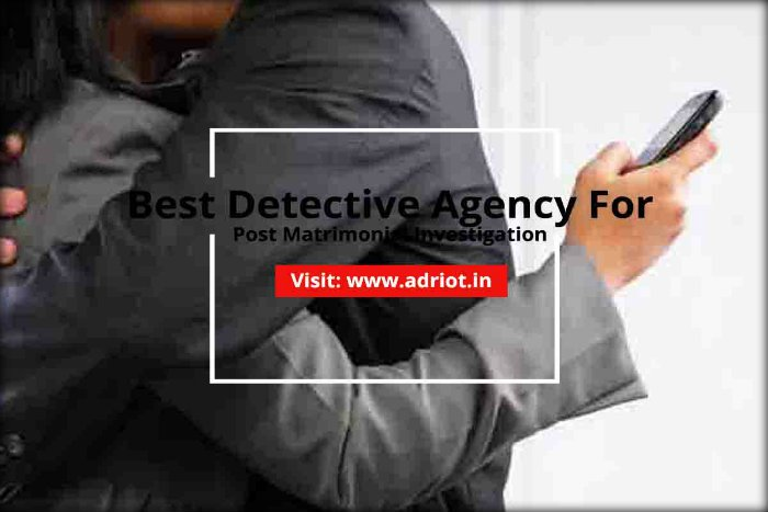 private detective agencies in Kolkata