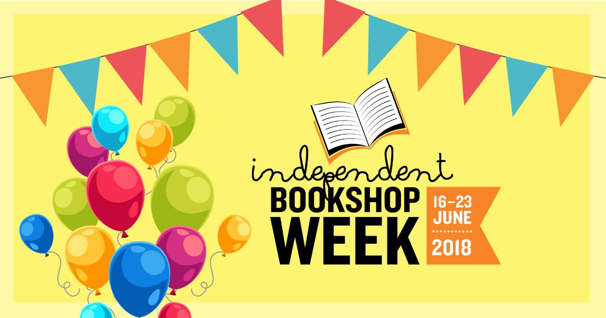 Sadly it is now the end of Independent Bookshop Week. What a fantastic week of events and stunning displays. You are ALL #bookshopheroes. #IBW2018