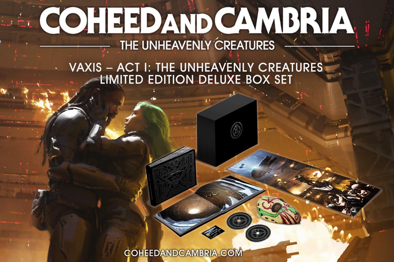 Coheed And Cambria Announces New Album 'The Unheavenly